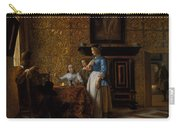Leisure Time In An Elegant Setting Carry-all Pouch