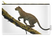 Leopard Panthera Pardus Climbing Carry-all Pouch