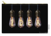 Light Bulb Background Carry-all Pouch
