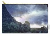 Lijiang River Boat Tour In The Rain-arttopan-china Guilin Scenery Carry-all Pouch