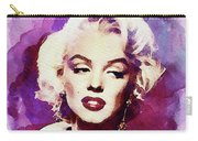Marilyn Monroe, Actress And Model Carry-all Pouch