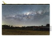 Milky Way Over A Farm Shed Carry-all Pouch