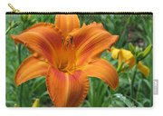 Daylily Orange Carry-all Pouch
