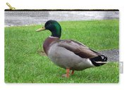 New Zealand - Male Mallard Duck Carry-all Pouch