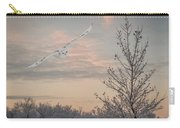 Snowy Owl Glide Carry-all Pouch
