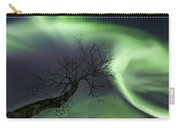 Northern Lights In The Arctic Carry-all Pouch by Arild Heitmann