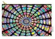 Novino Sale Fineart Chakra Mandala Round Circle Inspirational Healing Art At Fineartamerica.com By N Carry-all Pouch