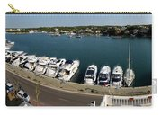 panoramic town 1 - Panorama of Port Mahon Menorca Carry-all Pouch