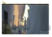 Party Setting With Bokeh Background Carry-all Pouch