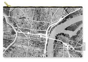 Philadelphia Pennsylvania Street Map Carry-all Pouch