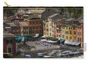Portofino In The Italian Riviera In Liguria Italy Carry-all Pouch by David Smith