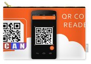 Qr Code Reader Carry-all Pouch