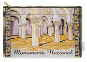 Santa Maria La Blanca Synagogue - Toledo Spain Carry-all Pouch