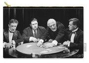 Silent Film Still: Gambling Carry-all Pouch