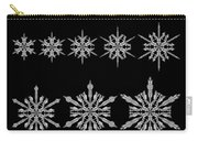 Snowflake Simulation Carry-all Pouch