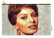Sophia Loren, Vintage Movie Star Carry-all Pouch