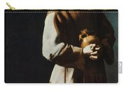 St Francis Of Assisi Carry-all Pouch by Granger