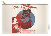 Stalin Soviet Propaganda Poster Carry-all Pouch