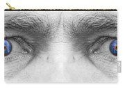 Stormy Angry Eyes Carry-all Pouch