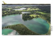 Suwalki Landscape Park, Poland. Summer Time. View From Above. Carry-all Pouch