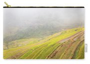 Terrace Fields Scenery In Autumn Carry-all Pouch