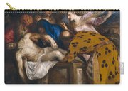 The Burial Of Christ Carry-all Pouch