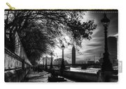 The River Thames Path Carry-all Pouch