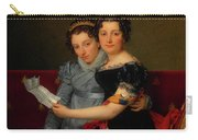 The Sisters Zenaide And Charlotte Bonaparte Carry-all Pouch