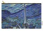 The Starry Night Carry-all Pouch by Vincent Van Gogh