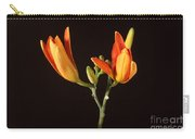 Tiger Lily Flower Opening Part Carry-all Pouch