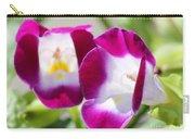 Torenia Named Kauai Magenta Carry-all Pouch