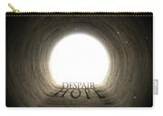 Tunnel Text And Shadow Concept Carry-all Pouch