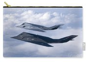 Two F-117 Nighthawk Stealth Fighters Carry-all Pouch by HIGH-G Productions
