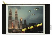 Ufo Postcards Home By Raphael Terra Carry-all Pouch