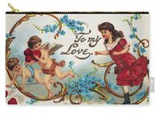 Valentines Day Card Carry-all Pouch