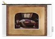 Wallis Henry The Death Of Chatterton2 Henry Wallis Carry-all Pouch