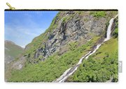Waterfall In Geiranger Norway Carry-all Pouch