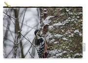 White-backed Woodpecker Carry-all Pouch