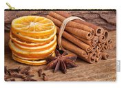Winter Spices Carry-all Pouch by Nailia Schwarz