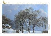 Winterlandschap Carry-all Pouch