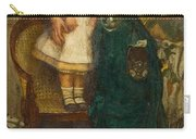 Woman With Child And Goldfish Carry-all Pouch