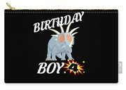 4 Years Old Birthday Design Dinosuar Shirt Carry-all Pouch