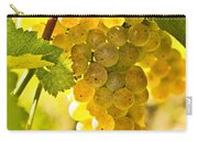 Yellow Grapes Carry-all Pouch by Elena Elisseeva