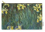 Yellow Irises Carry-all Pouch