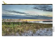 Yorktown Beach At Sunrise Carry-all Pouch