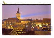 Zagreb Historic Upper Town Night View Carry-all Pouch