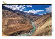 Zanskar River Ladakh Jammu And Kashmir India Carry-all Pouch
