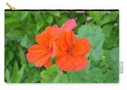 Australia - Orange Flowers Carry-all Pouch