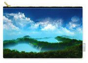 Landscape Oil Painting On Canvas Carry-all Pouch