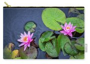 4432- Lily Pads Carry-all Pouch